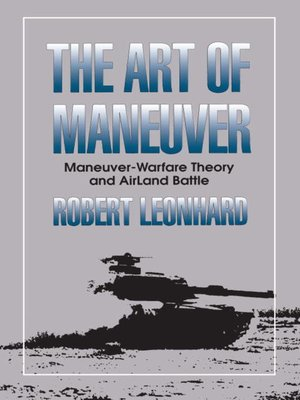 cover image of The Art of Maneuver