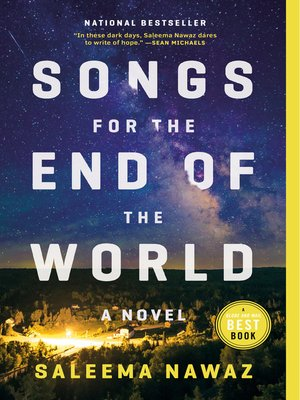 cover image of Songs for the End of the World
