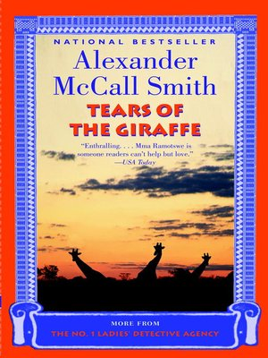 cover image of Tears of the Giraffe