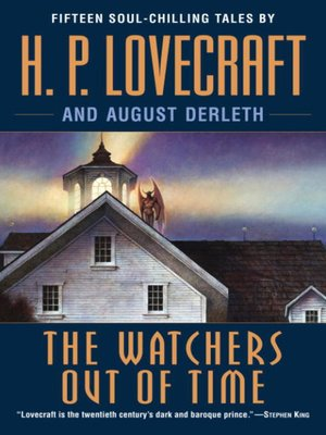 cover image of The Watchers Out of Time