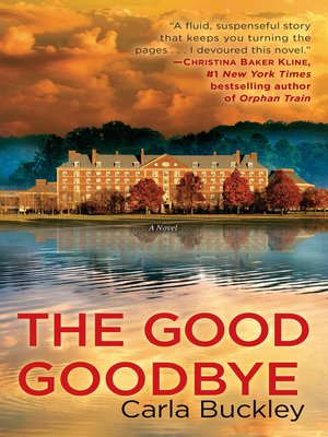 cover image of The Good Goodbye