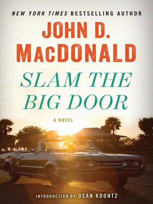 cover image of Slam the Big Door