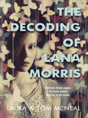 cover image of The Decoding of Lana Morris
