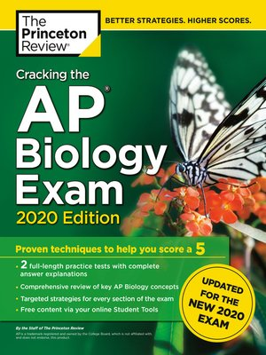 cover image of Cracking the AP Biology Exam, 2020 Edition