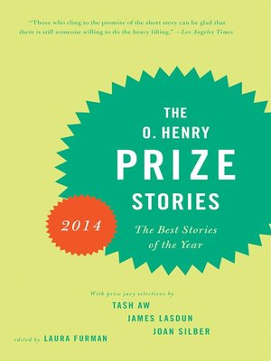 cover image of The O. Henry Prize Stories 2014