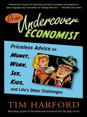 cover image of Dear Undercover Economist