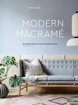 cover image of Modern Macrame