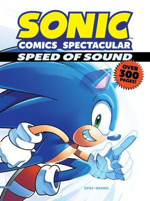 cover image of Sonic Comics Spectacular: Speed of Sound