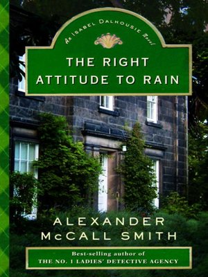 cover image of The Right Attitude to Rain