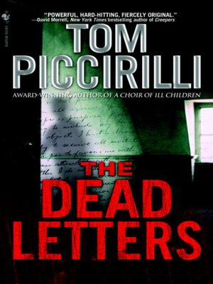 cover image of The Dead Letters