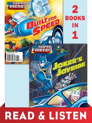 cover image of Joker's Joyride/Built for Speed