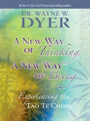 cover image of A New Way of Thinking, a New Way of Being