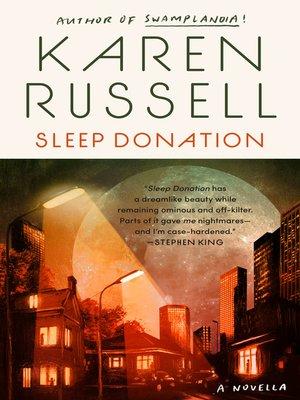 cover image of Sleep Donation