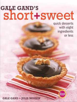 cover image of Gale Gand's Short and Sweet