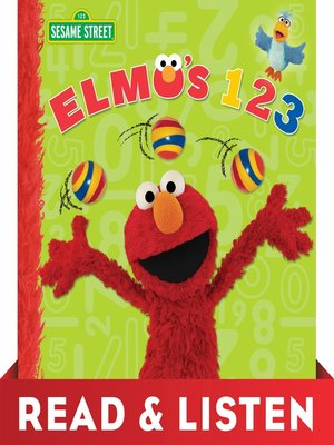 cover image of Elmo's 123