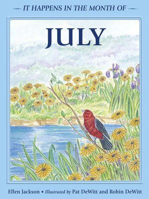 cover image of It Happens in the Month of July