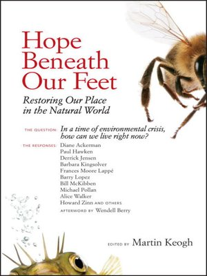 cover image of Hope Beneath Our Feet