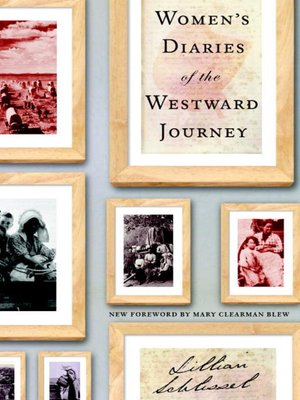 cover image of Women's Diaries of the Westward Journey
