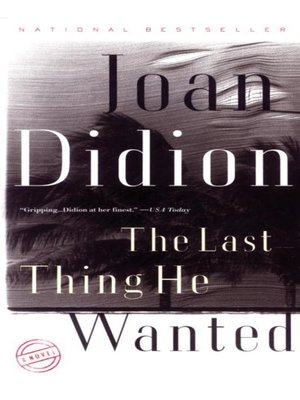 cover image of The Last Thing He Wanted
