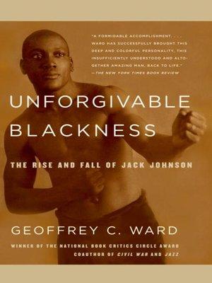cover image of Unforgivable Blackness