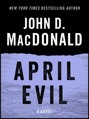 cover image of April Evil