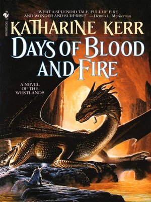 cover image of Days of Blood and Fire