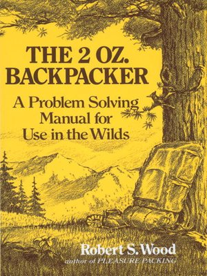 cover image of The 2 Oz. Backpacker