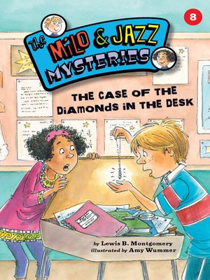 cover image of The Case of the Diamonds in the Desk (Book 8)