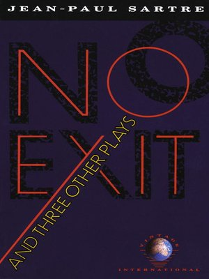 cover image of No Exit and Three Other Plays