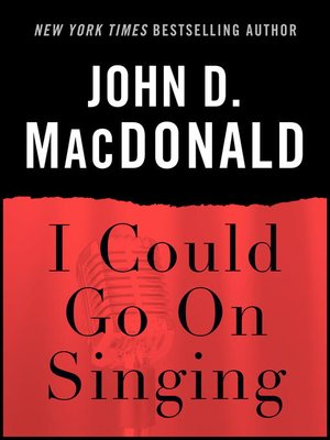 cover image of I Could Go on Singing