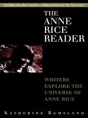 cover image of Anne Rice Reader