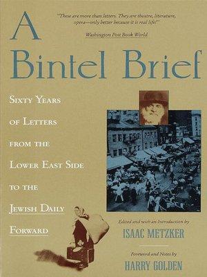 cover image of A Bintel Brief