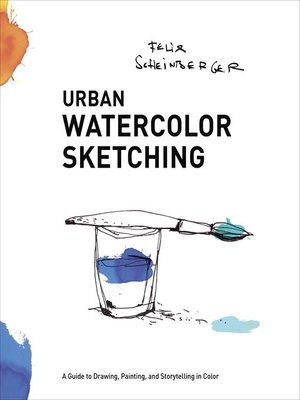 cover image of Urban Watercolor Sketching