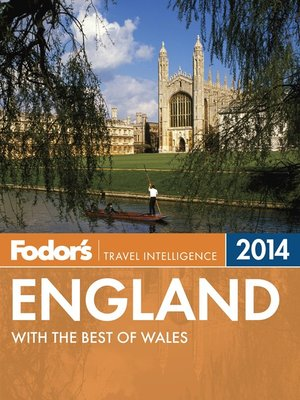cover image of Fodor's England 2014
