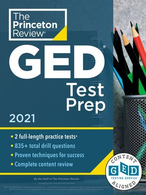 cover image of Princeton Review GED Test Prep, 2021