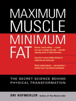 cover image of Maximum Muscle, Minimum Fat
