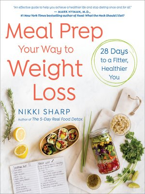 cover image of Meal Prep Your Way to Weight Loss