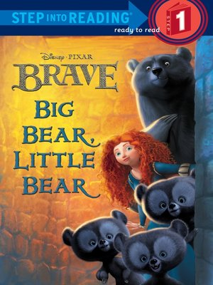 cover image of Big Bear, Little Bear (Disney/Pixar Brave)