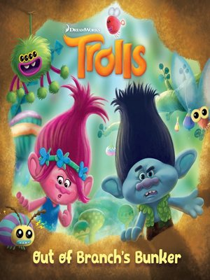 cover image of Trolls Deluxe Pictureback with Stickers