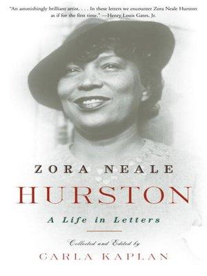 cover image of Zora Neale Hurston