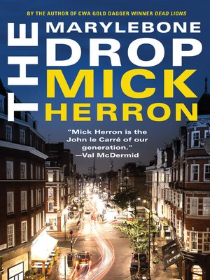 cover image of The Marylebone Drop