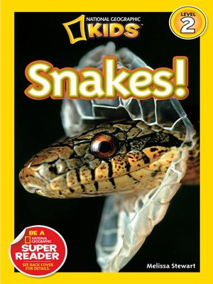 cover image of National Geographic Readers: Snakes