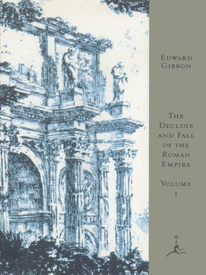 cover image of The Decline and Fall of the Roman Empire, Volume I