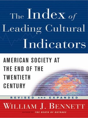 cover image of The Index of Leading Cultural Indicators