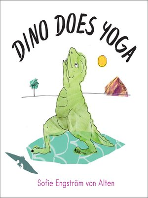 cover image of Dino Does Yoga