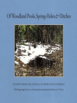 cover image of Of Woodland Pools, Spring-Holes and Ditches