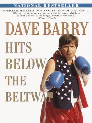 cover image of Dave Barry Hits Below the Beltway