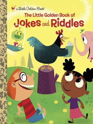 cover image of The Little Golden Book of Jokes and Riddles