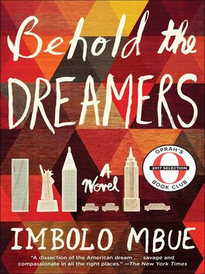 cover image of Behold the Dreamers (Oprah's Book Club)