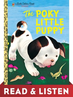cover image of The Poky Little Puppy